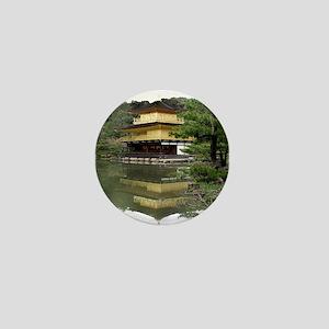 Helaine's Golden Pavilion Mini Button
