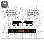 Double Steak Day Puzzle