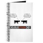 Double Steak Day Hope Journal