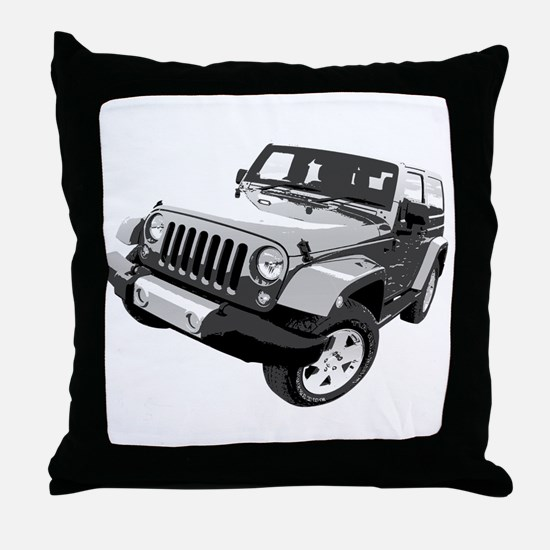 Wrangler Throw Pillow