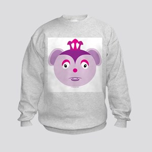 3 Horned Mouse Monster Kids Sweatshirt