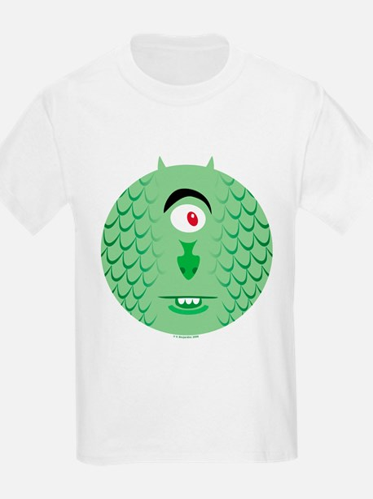 One-eyed Sea Monster Kids T-Shirt