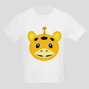 One Horned Yellow Monster Kids T-Shirt