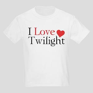 I Love Twilight Kids Light T-Shirt