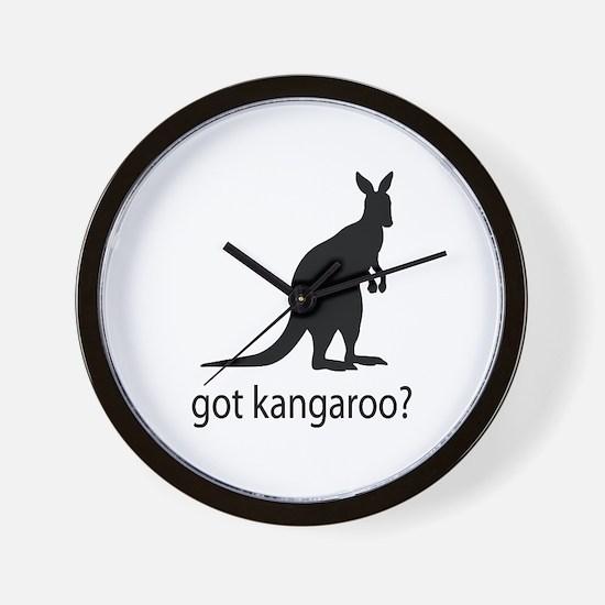 Got kangaroo? Wall Clock