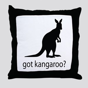 Got kangaroo? Throw Pillow