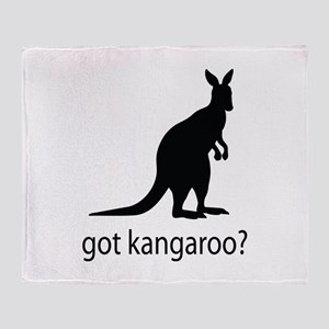 Got kangaroo? Throw Blanket