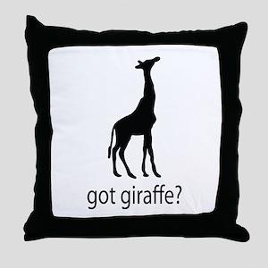 Got giraffe? Throw Pillow