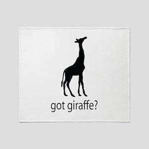 Got giraffe? Throw Blanket