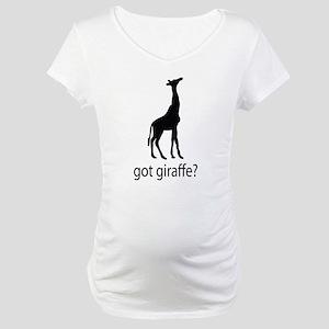 Got giraffe? Maternity T-Shirt
