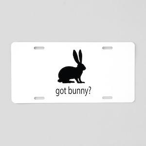 Got bunny? Aluminum License Plate
