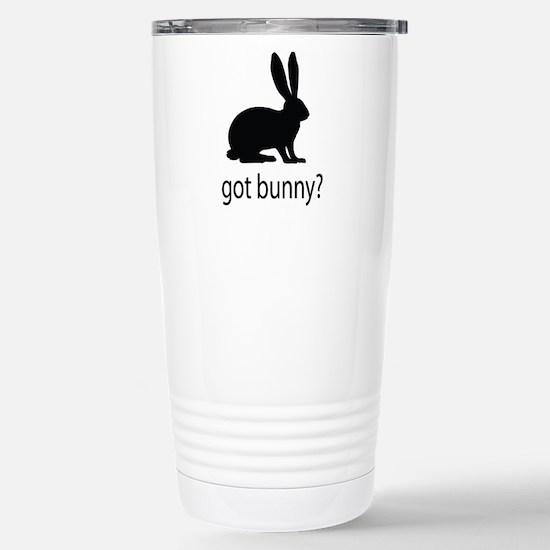 Got bunny? Stainless Steel Travel Mug