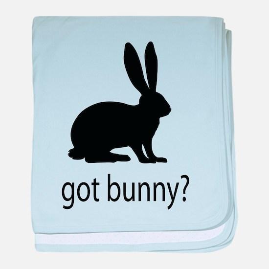 Got bunny? baby blanket