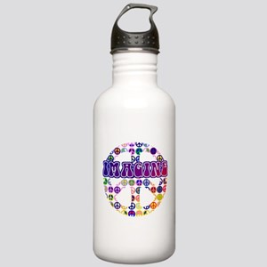 Imagine Peace Stainless Water Bottle 1.0L