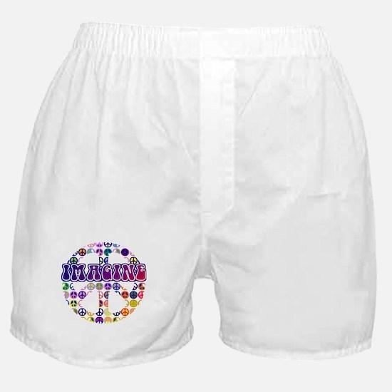 Imagine Peace Boxer Shorts