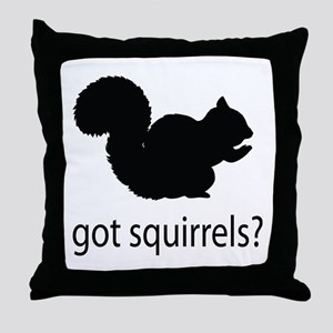 Got squirrels? Throw Pillow