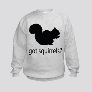 Got squirrels? Kids Sweatshirt