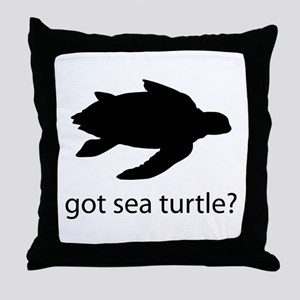 Got sea turtle? Throw Pillow