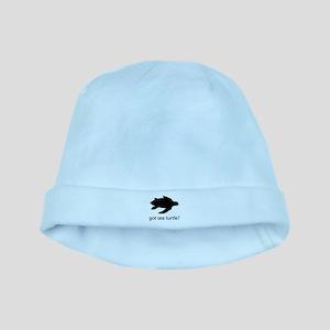 Got sea turtle? baby hat