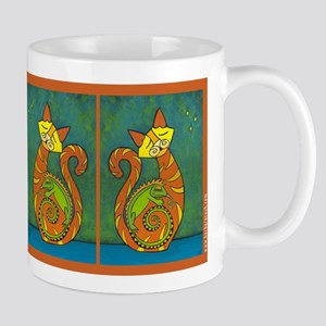 Iguana Love You Whimsical Cat Mug Mug