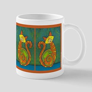 Iguana Love You Whimsical Cat Mug Mug