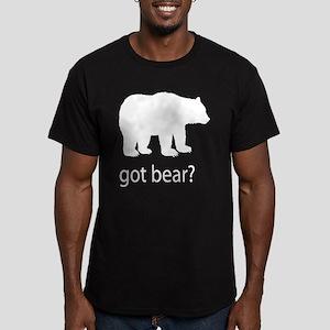 Got bear? Men's Fitted T-Shirt (dark)