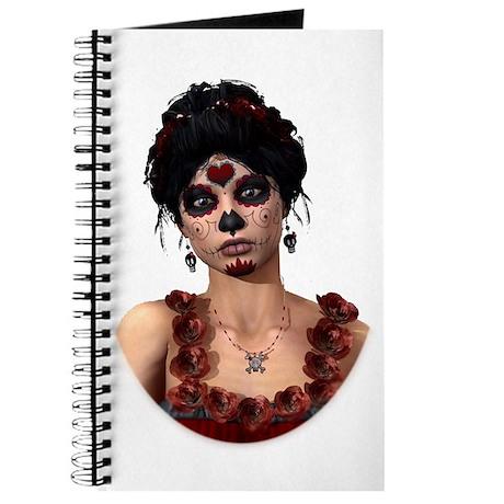 Day of the Dead Crimson Eveni Journal