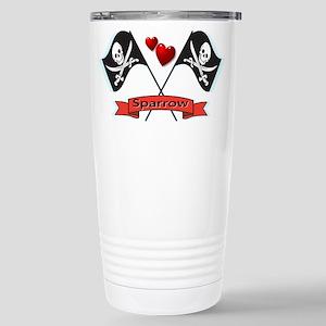 I heart Sparrow Stainless Steel Travel Mug