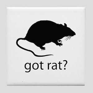 Got rat? Tile Coaster