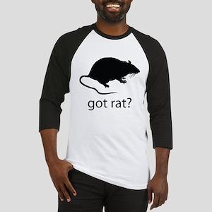 Got rat? Baseball Jersey