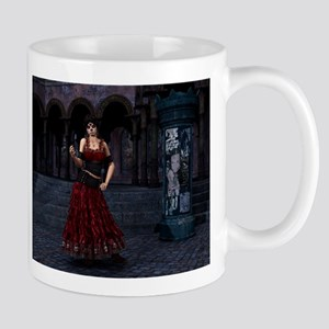Day of the Dead Crimson Eveni Mug
