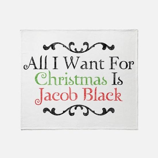 Jacob Black Christmas 2 Throw Blanket