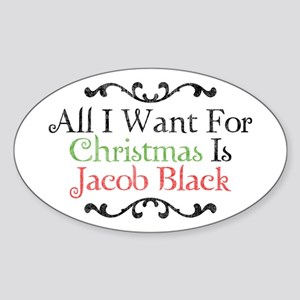 Jacob Black Christmas 2 Sticker (Oval)