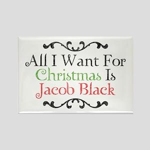 Jacob Black Christmas 2 Rectangle Magnet