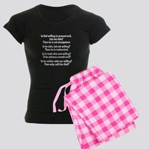 God Women's Dark Pajamas