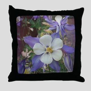 Colorado Columbines - Throw Pillow