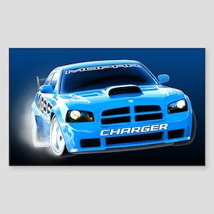 Charger Drift Sticker (Rectangle)