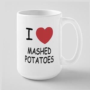 I heart mashed potatoes Large Mug