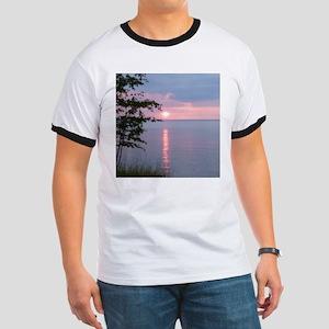 Sunset Lake Superior Ringer T