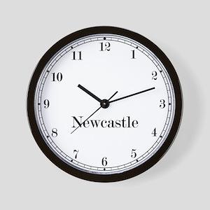 Newcastle Classic Newsroom Wall Clock