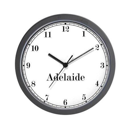Adelaide Classic Newsroom Wall Clock