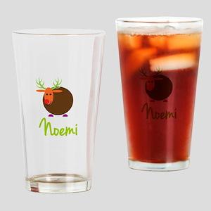 Noemi the Reindeer Drinking Glass