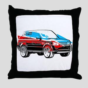 Rover Style Throw Pillow
