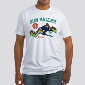 Sun Valley Idaho Fitted T-Shirt