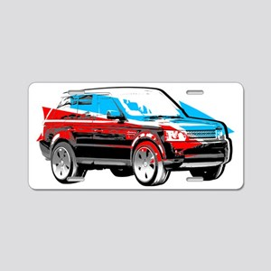Rover Style Aluminum License Plate