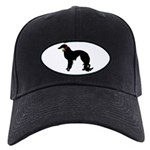 Christmas or Holiday Irish Setter Silhouette Black