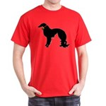 Christmas or Holiday Irish Setter Silhouette Dark