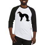Christmas or Holiday Irish Setter Silhouette Baseb