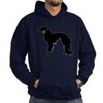 Christmas or Holiday Irish Setter Silhouette Hoodi