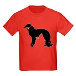 Christmas or Holiday Irish Setter Silhouette Kids